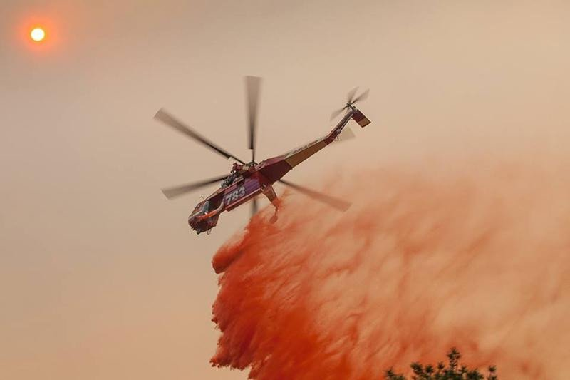 Hobby #drones are still hampering wildfire air crews on the West Coast