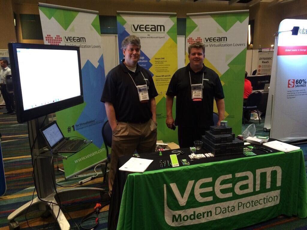 Veeam Exhibited in New York ▸  @Veeam #IoT #M2M #API #BigData #DevOps #DataCenter #Storage