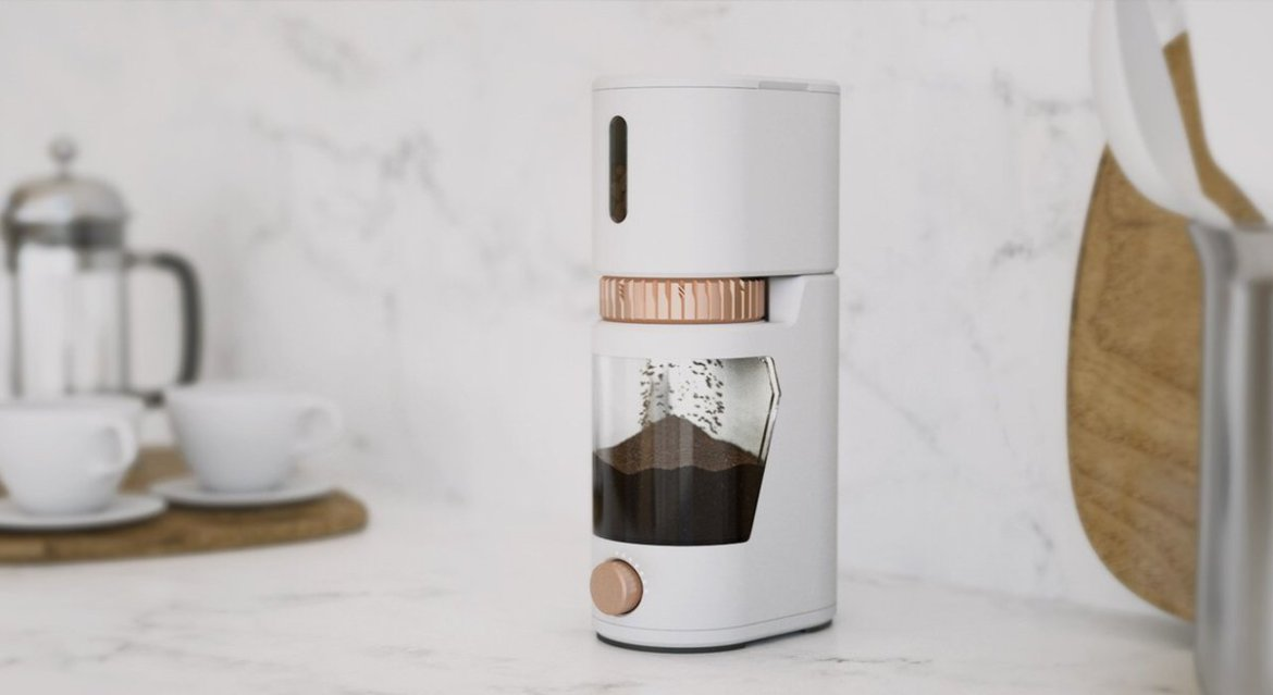 #IoT #coffee grinder re-orders beans when they lose freshness
