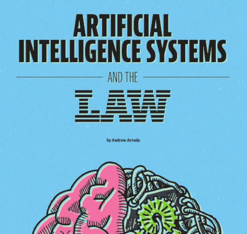 Artificial Intelligence Systems & the Law  via @ILTANet  -Must read on #AI & #law! #LegalTech