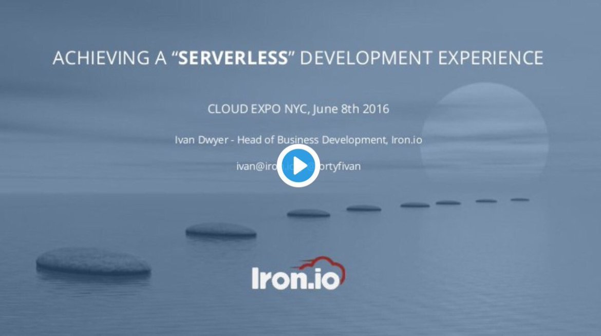 [slides] #Serverless Development ▸  @fortyfivan #BigData #LowCode #IoT #DigitalTransformation