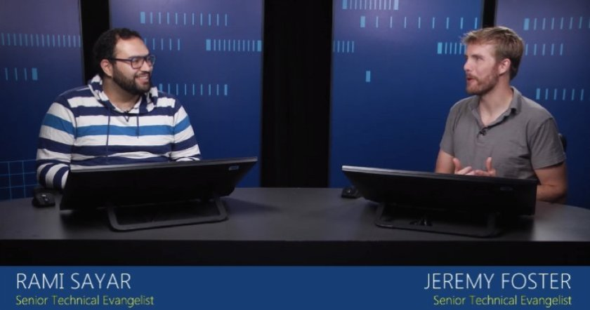Curious about #ReactJS? Good! @codefoster and @ramisayar will get you up and running.  #MSMVA