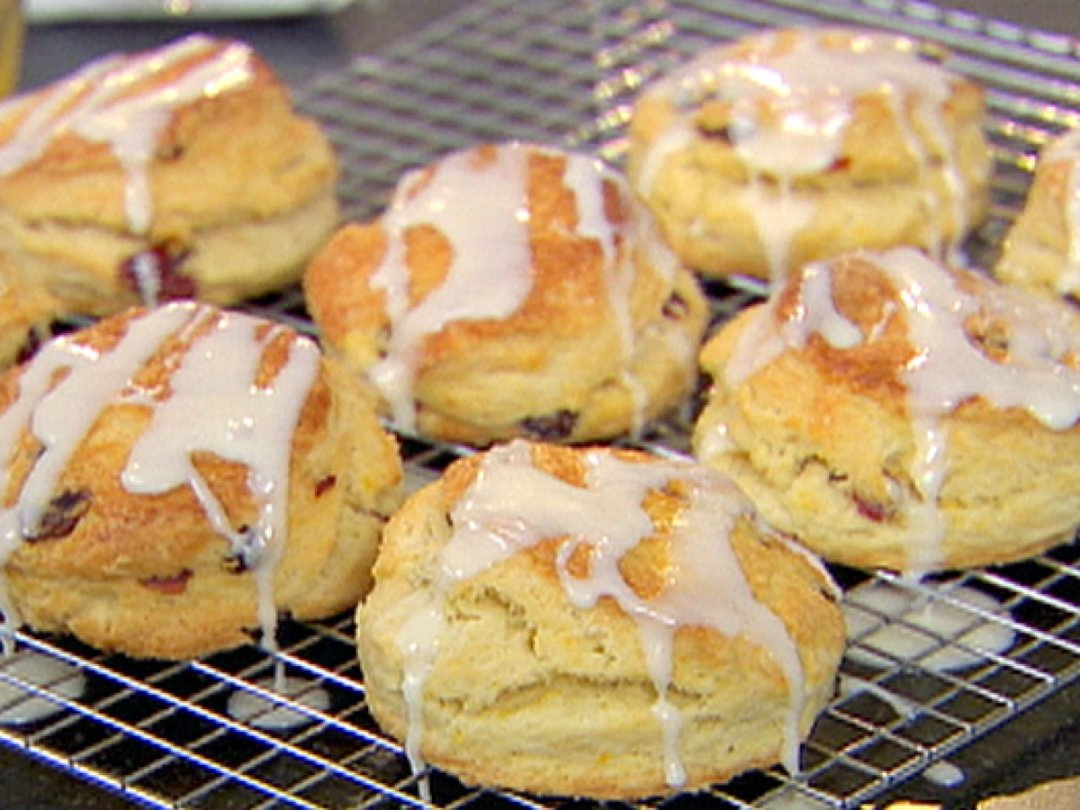Cranberry Orange Scones recipe from Ina