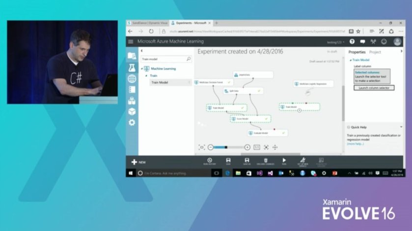 #XamarinEvolve session replay: Enhancing Your Mobile Application with Machine Learning,