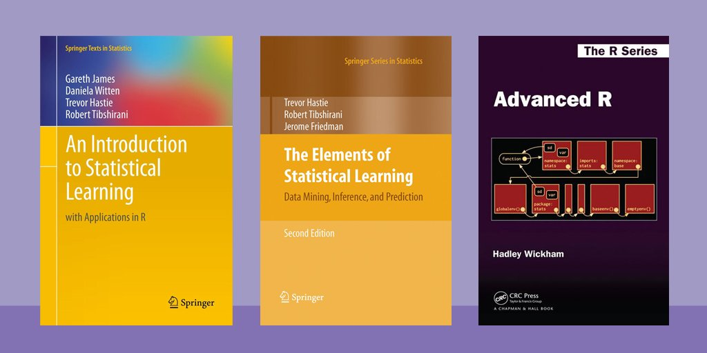📖 A collection of free, open-source eBooks on #machinelearning, #statistics & data-mining: