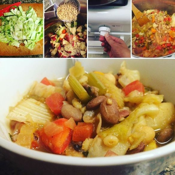 Irish barley stew photos are up! Super easy : You just cut everything up, throw it …
