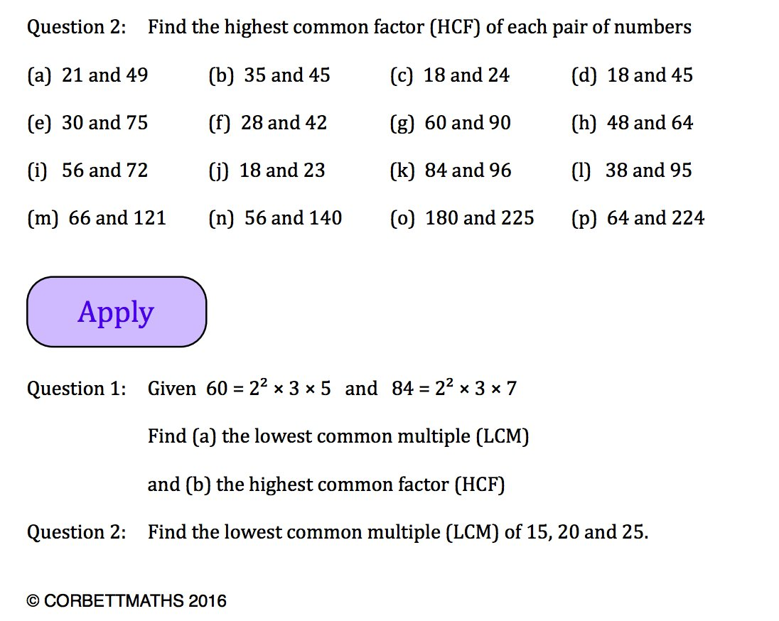 Corbettmaths On Twitter New And Improved Textbook
