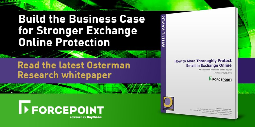 Osterman Research: Thoroughly Protect Email in Exchange Online: