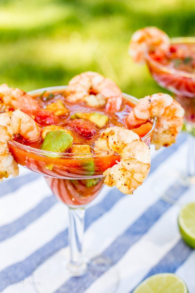 Grilled Mexican Shrimp Cocktail @ElYucateco �