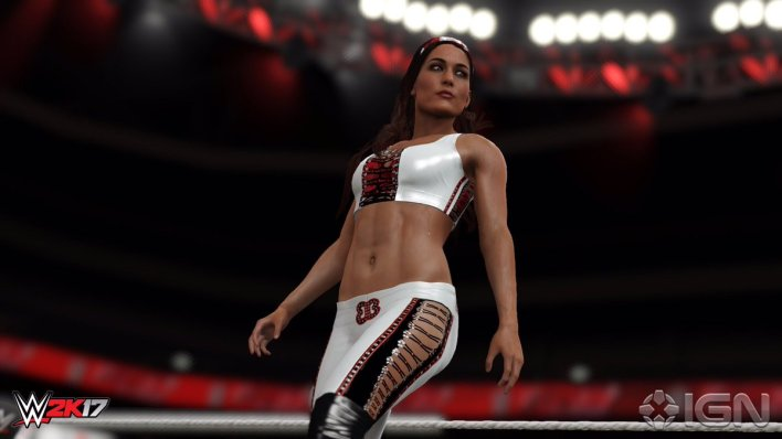 Brie Bella - WWE 2K17 Roster Reveal