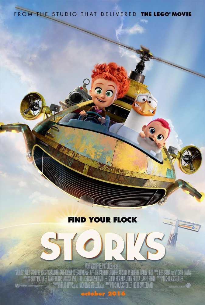 New Storks Trailer Featuring Andy Samberg & Katie Crown 2