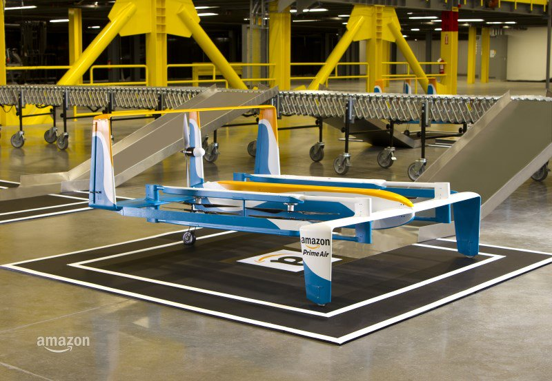 Amazon begins testing delivery drone fleets in the UK  #Wearables #IoT