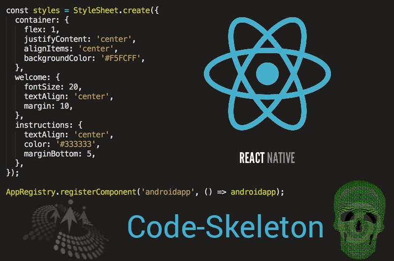#ReactNative Components & Code-Skeleton Walkthrough by @ksr007 cc @CsharpCorner