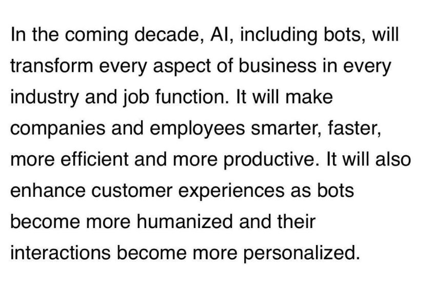 My @financialpost article about artificial intelligence and chatbots in business #AI