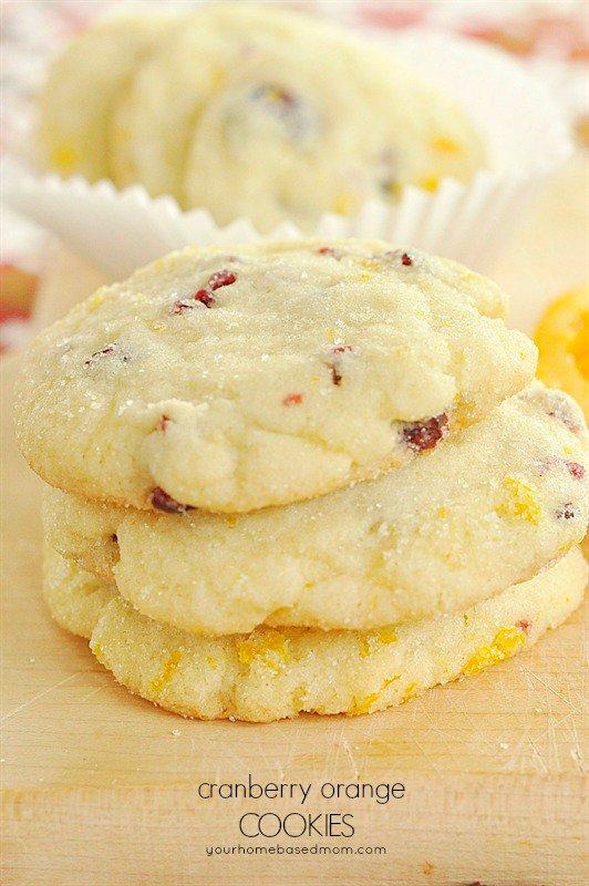 Cranberry Orange Cookies: Cranberry Orange Cookies -…