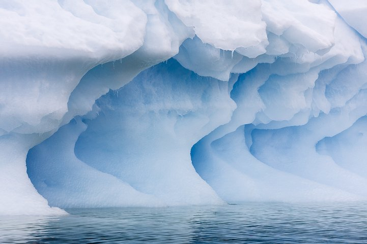 Check out these amazing pictures of Antarctica's #glaciers and see how blue ice is formed