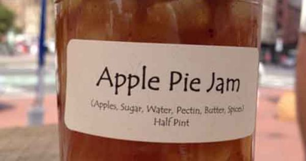 Best & community : Canning Recipe – Apple Pie Jam