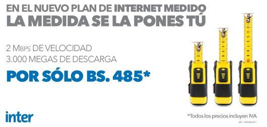 medidas de velocidad de internet
