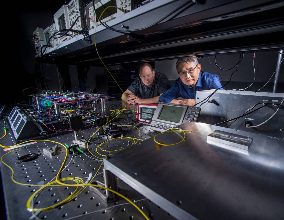 NASA will take 24/7 global atmospheric CO2 measurements from space using laser technology.