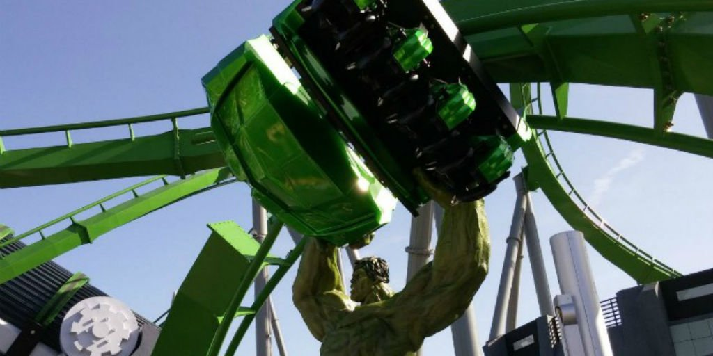 ICYMI: The Incredible #Hulk Coaster has reopened at #UniversalOrlando: