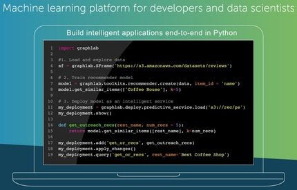 Turi: Machine learning platform for developers and data scientists  via @pygeek
