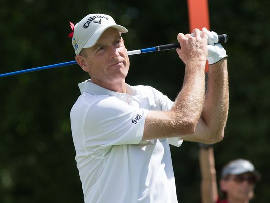 .Jim Furyk sets PGA Tour record with 58 in final round at #Travelers. Watch now on CBS.