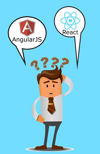 #AngularJS or #ReactJS? Which one suits my #business requirement?  #WebsiteOntwikkeling