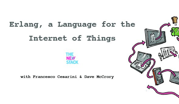 Exploring #Erlang in an #IoT context: a @thenewstack podcast with @FrancescoC and @mccrory:
