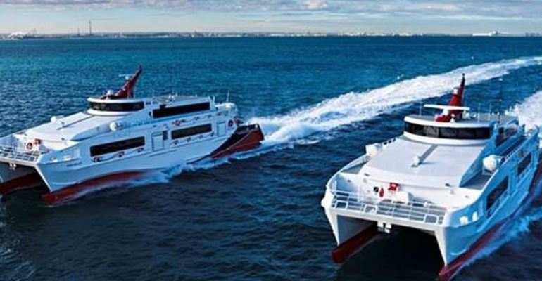 APPROVED: High-speed ferry project gets final green light. Service to start in Nov. Story: