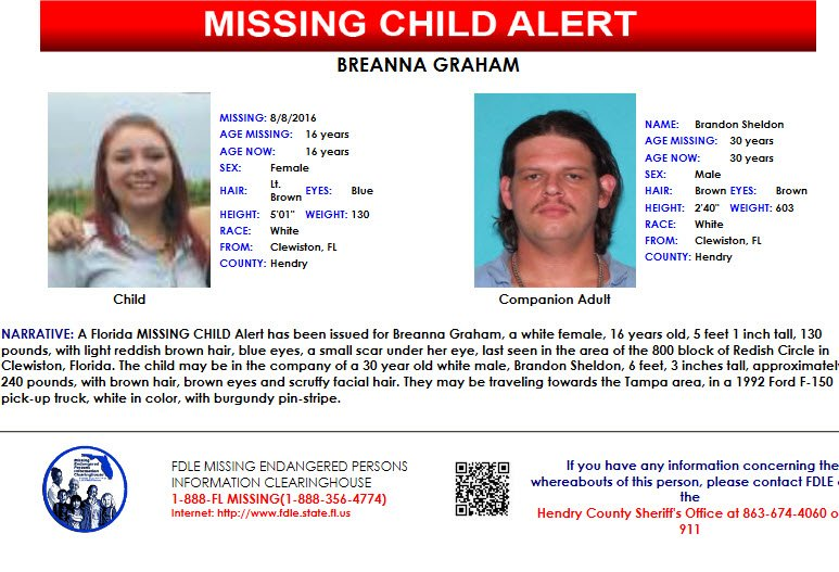 #MISSINGCHILD | Be on the lookout for a 1992 Ford F-150 white pickup with #FL tag GZNP47