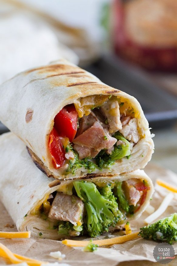 Break out the grill for these Grilled Pork Burritos