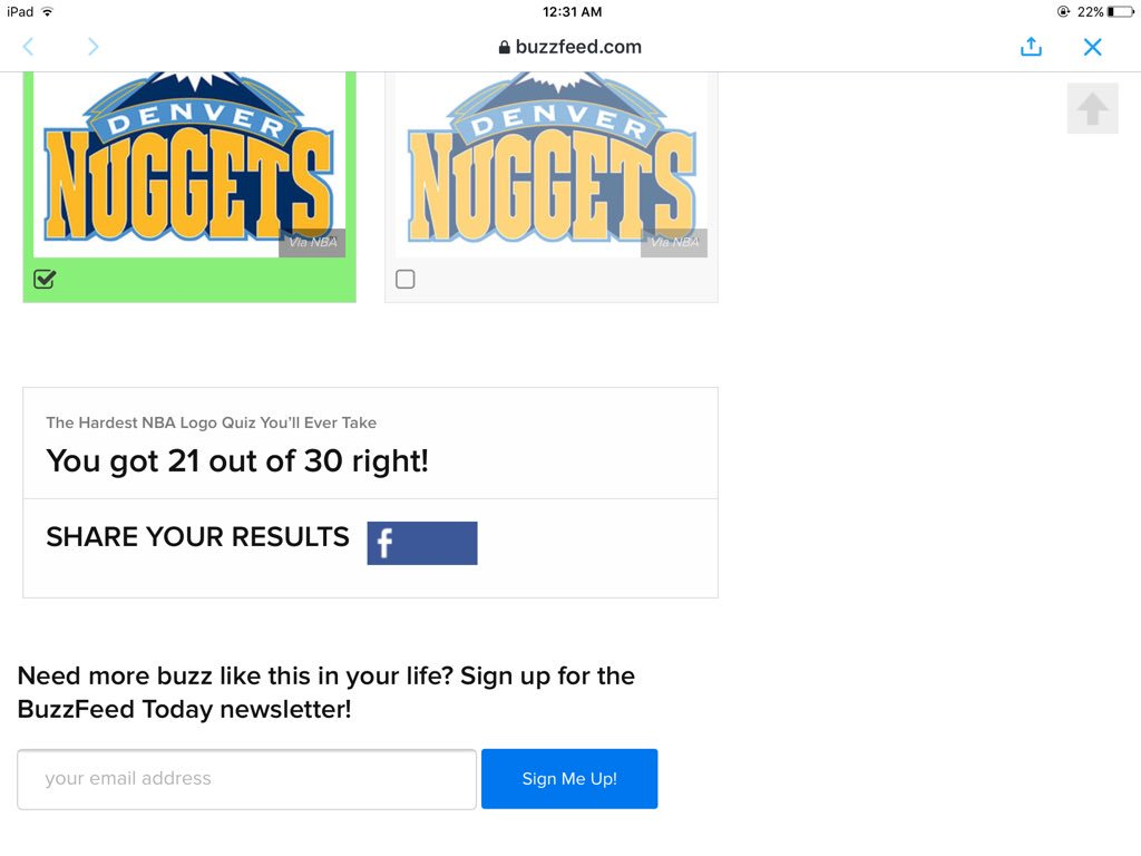 Atlanta Hawks On Twitter This Buzzfeed Nba Logo Quiz Is Actually Pretty Hard Test Your