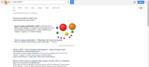 what is search engine results page serp definition - 777×634