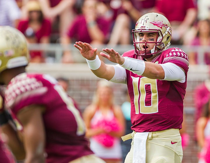 Sean Maguire returns to practice for Florida State.  #FSU @FSU_Football #Noles