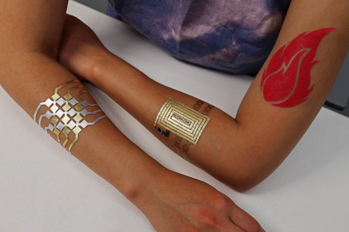 Temporary tattoo can control your smartphone  #mobile #wearabletech #wearables #IoT
