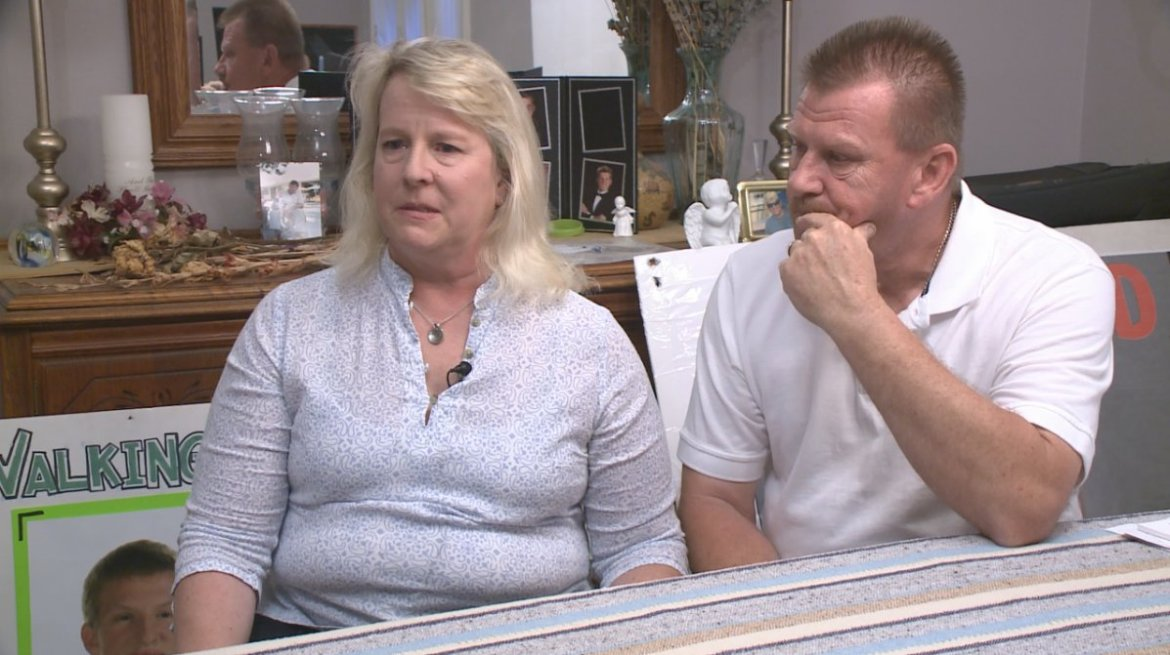 Parents say they won't stop until they see justice  @CBSCourtney has the story: