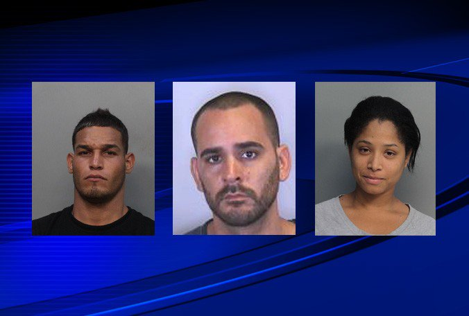 3 people from South #Florida arrested in connection to 25 burglaries in South #Tampa