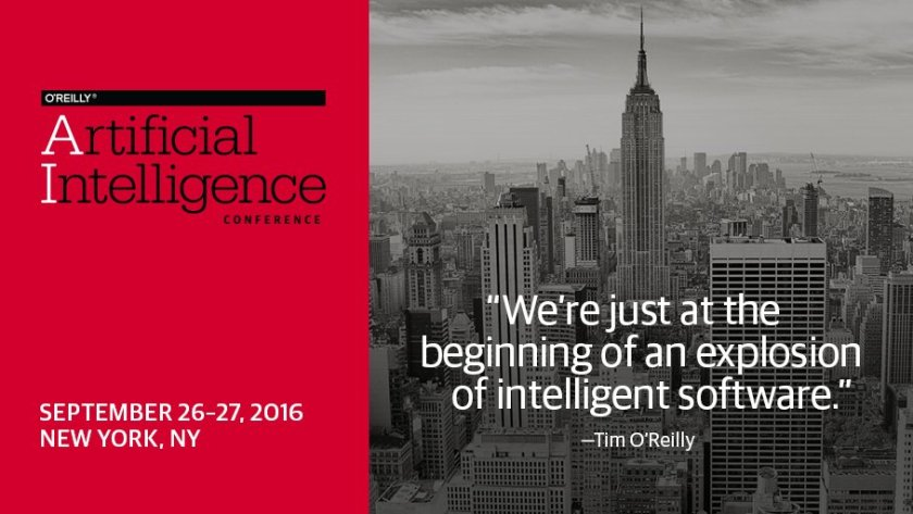 Last day to register for #OReillyAI at Early Price!  Real-world opportunities of applied #AI