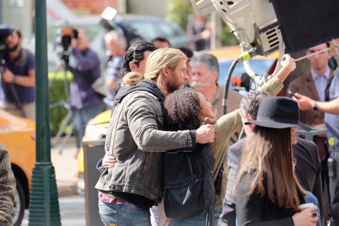 Thor: Ragnarok Set Photos 19