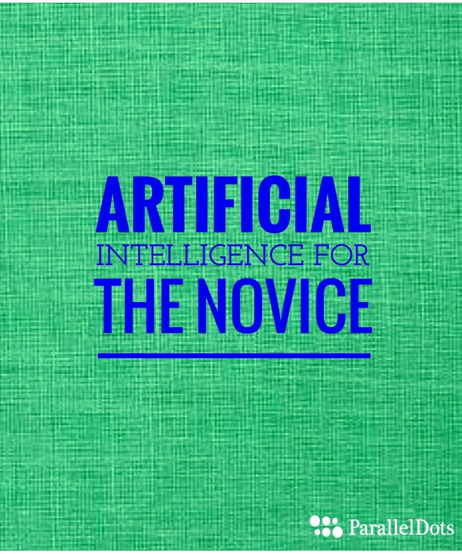 Newbie in Artificial intelligence  #AI #DataScience #MachineLearning #bigdata #startups…