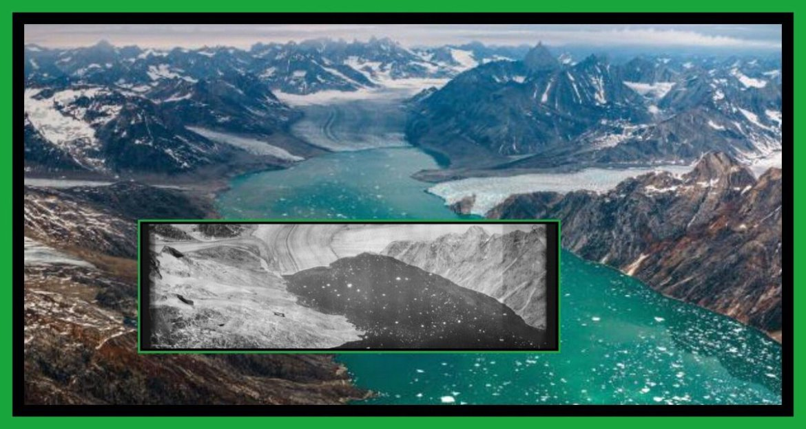 These Photos Show How Hard Climate Change Has Hit Greenland  #glaciers #climate #nature
