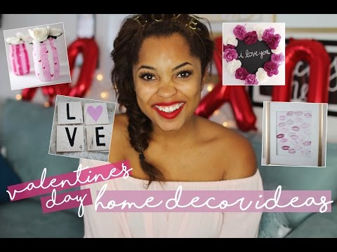 DIY VALENTINE\'S DAY HOME DECOR + GIFT IDEAS