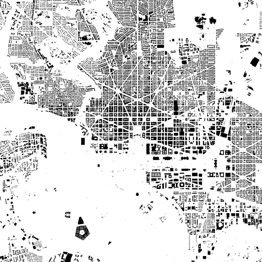 Citymetric On Twitter These Figure Ground Diagrams Of