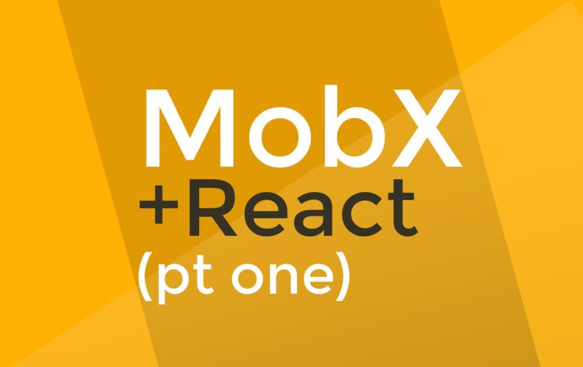 MobX tutorial #1 - MobX + React is AWESOME  #facebook #javascript #reactjs #webdev -