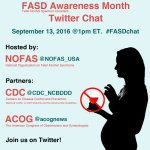 FASD Awareness Month Twitter Chat