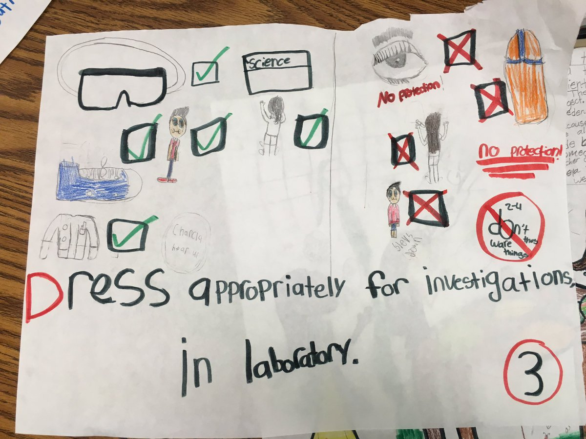 4th Grade Lab Safety Rules
