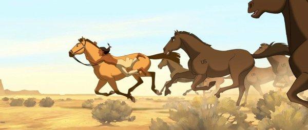 paint spirit stallion of the cimarron # 37