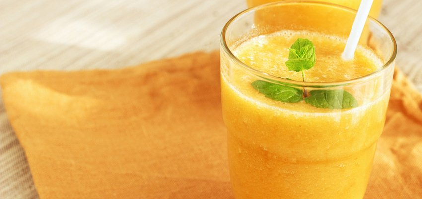 Inflammation-Fighting Golden Turmeric Smoothie
