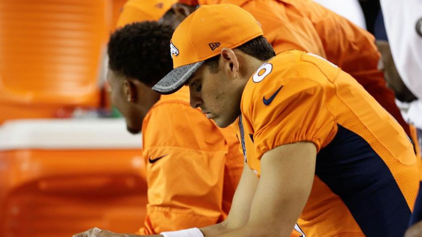 Report: #Broncos looking to trade Mark Sanchez per @ProFootballTalk