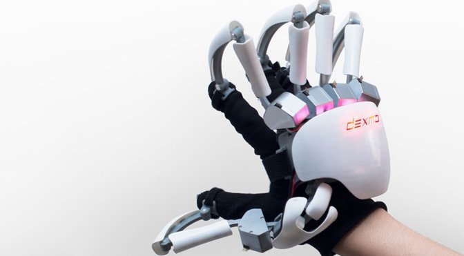 This exoskeleton glove could let you feel the 'shape' of virtual reality: